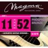Juego de Cuerdas MAGMA Acústica Phosphor .11 Modelo: GA130PB cod.0996373