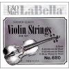 Juego Cuerdas de Violín LA BELLA ACERO #680